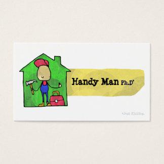 Handy Man Ph.D Business Card