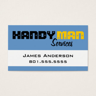 Handy Man Services Professional Business Cards