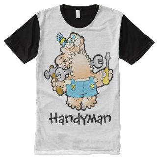 Handyman All Over Print Tshirt All-Over Print T-Shirt