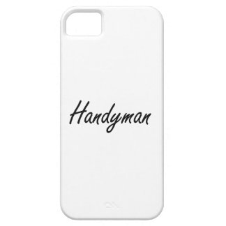 Handyman Artistic Job Design Barely There iPhone 5 Case