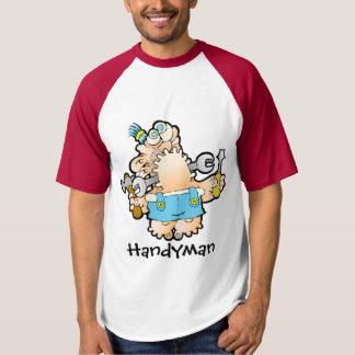 Handyman Baseball T-shirt