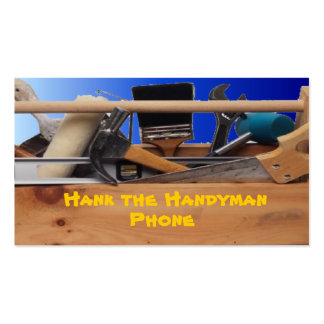 HANDYMAN PACK OF STANDARD BUSINESS CARDS