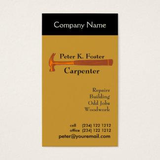 Handyman Construction Business Card