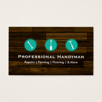 Handyman Construction Business Cards