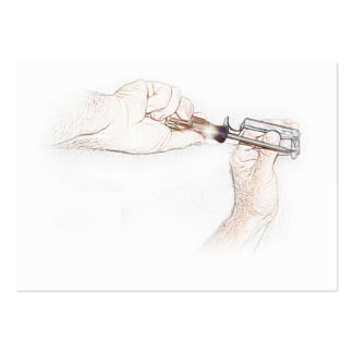 Handyman Hands with Screwdriver (Mr. Fix-it) Business Card