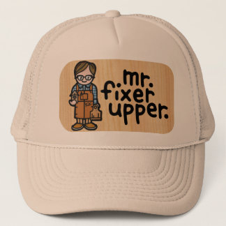 handyman hat. trucker hat