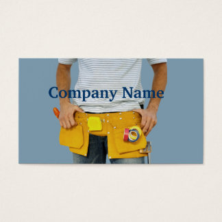 Handyman Home Remodeling Business Card