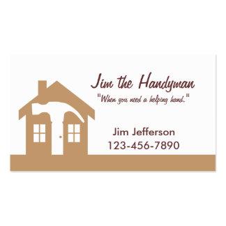 Handyman/Home Repair/ Brown Business Card