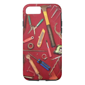 Handyman maintenance and contractor hand tools iPhone 7 case