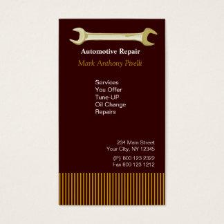 Handyman Mechanic  Repairman Guy Business Card