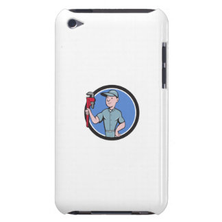 Handyman Monkey Wrench Circle Cartoon iPod Touch Covers