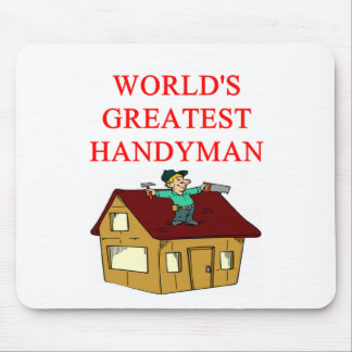 HANDYMAN MOUSE PAD