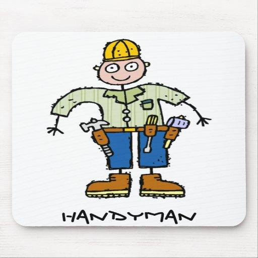 Handyman Mousepads