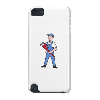 Handyman Pipe Wrench Standing Cartoon iPod Touch (5th Generation) Covers