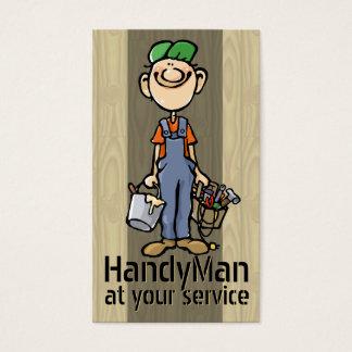 HandyMan. Plumber. Painter. Builder Template Business Card