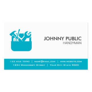 Handyman - Professional Cards - Any Color Pack Of Standard Business Cards