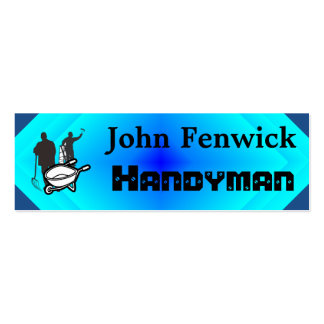 Handyman Service Blue Pack Of Skinny Business Cards
