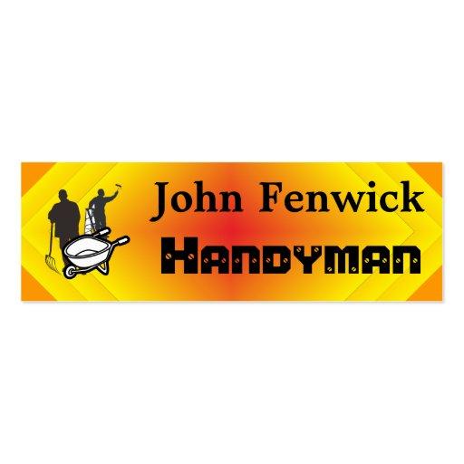 Handyman Service Business Card Templates