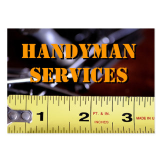 Handyman Services2 Pack Of Chubby Business Cards