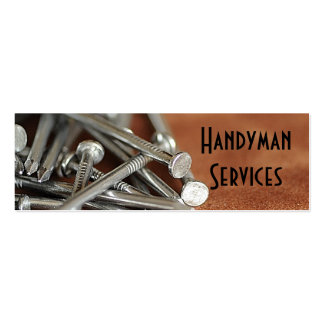 Handyman services pack of skinny business cards