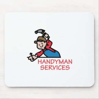 HANDYMAN SERVICES MOUSE PAD