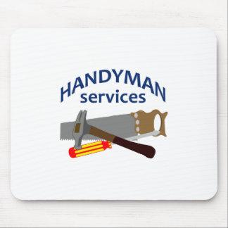 HANDYMAN SERVICES MOUSE PAD