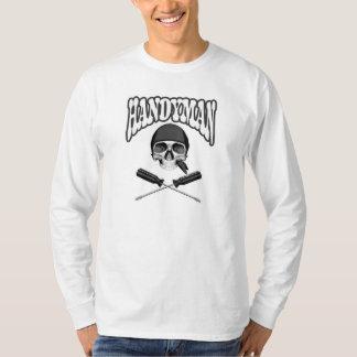 Handyman Skull Screwdrivers T-Shirt