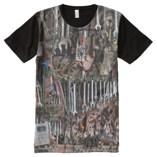 Handyman Tools All-Over Print T-Shirt