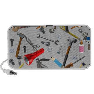 Handyman Tools Doodle Mp3 Speaker