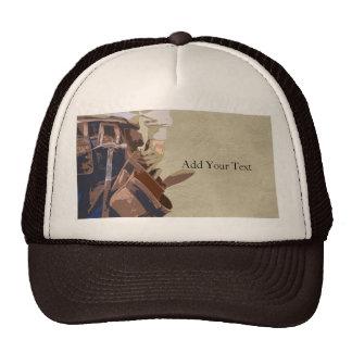 Handyman Tools Watercolor Mesh Hats