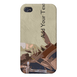 Handyman Tools Watercolor iPhone 4 Cover