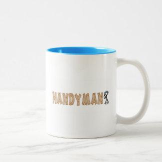 Handyman Two-Tone Coffee Mug