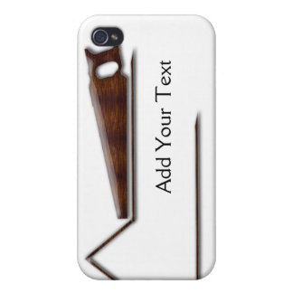 Handyman Wood Saw Business Cover For iPhone 4
