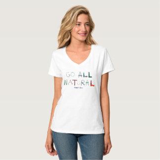 Hanes Nano V Neck T-Shirt