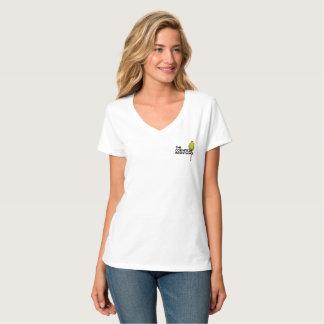 Hanes Nano V-Neck - The Cornfield Resistance T-Shirt