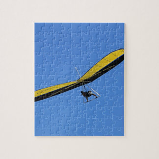 Hang glider in the sky jigsaw puzzle