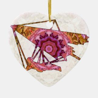 Hang gliding 03.jpg ceramic heart decoration
