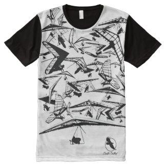 HANG GLIDING HG-35 Ponto Central All-Over Print T-Shirt