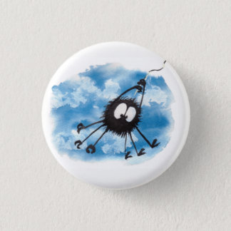 """""""Hang In There"""" Inspirational Button! Cute! 3 Cm Round Badge"""