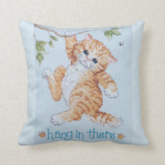 Hang in there pillow