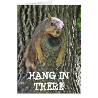 Hang in There, Things wont always be Nuts Card