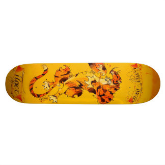 hang in there TIGER board Skate Board