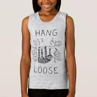 Hang Loose Sloth Singlet