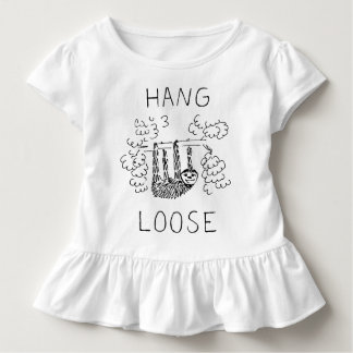 Hang Loose Sloth Toddler T-Shirt