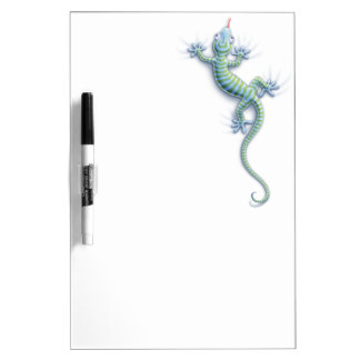 Hang On Gecko Dry-Erase Whiteboard