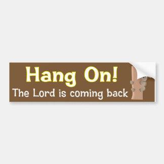 Hang on koala Christian design Bumper Sticker