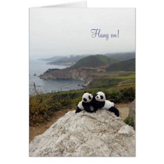Hang on! You've Got a Friend Note Card