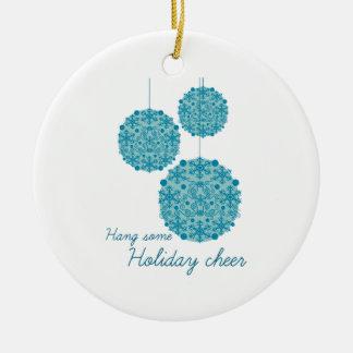 Hang Some Holiday Cheer Ornaments
