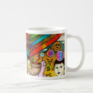 """Hang-Thinking Accident"" original art by bbqshoes Coffee Mug"