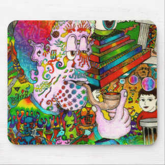 """""""Hang-Thinking Accident"""" original art by bbqshoes Mouse Pad"""